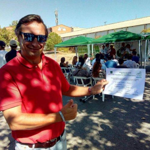 Diploma Alan Quedada AUVE 2018 Villanueva Del Pardillo
